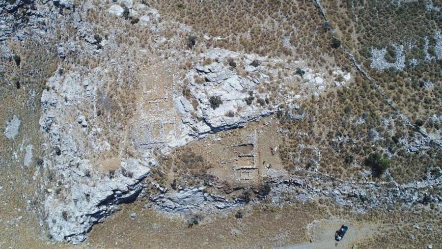 Ο χώρος της ανασκαφής (φωτ.: ΑΠΕ-ΜΠΕ).