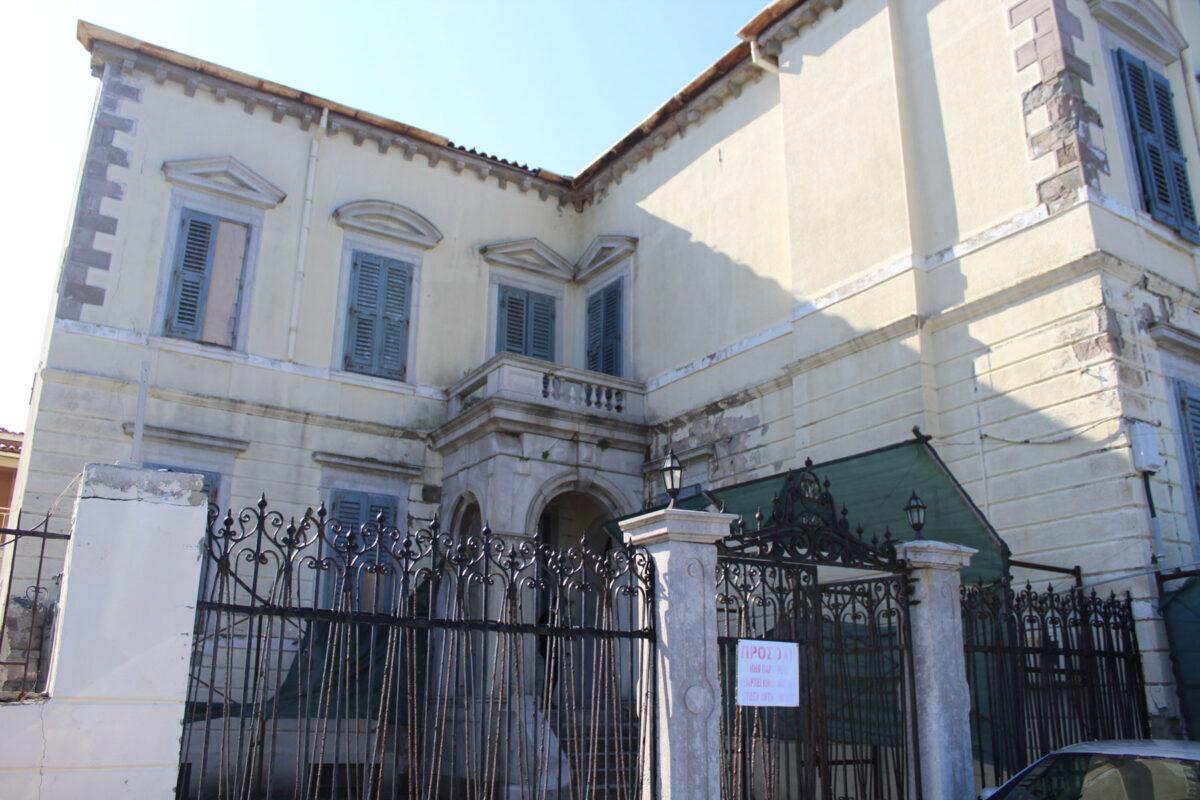 Το αρχοντικό χτίστηκε από τον επιφανή μεγαλέμπορο και παραγωγό βαμβακιού στην Αίγυπτο, Στυλιανό Χριστοδουλίδη, το 1868 (φωτ.: ΥΠΠΟΑ).