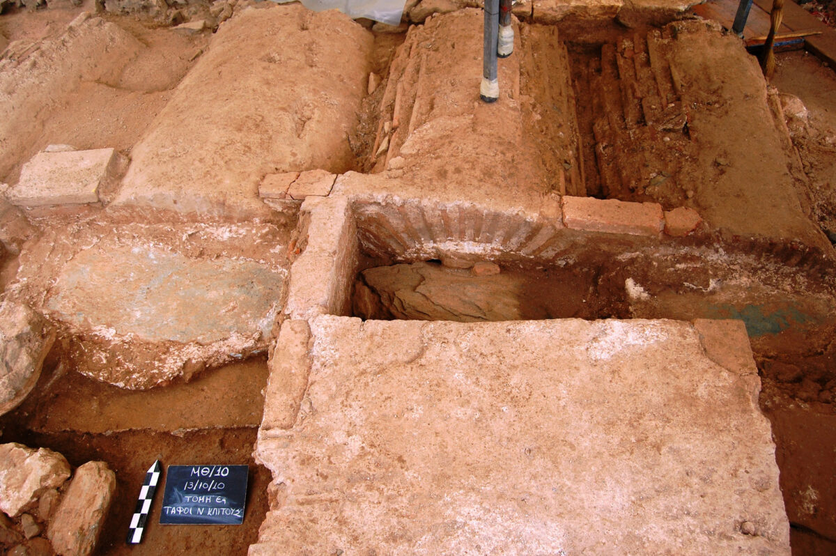 Άποψη της ανασκαφής (φωτ: Μ. Παϊσίδου / Ε. Μανιώτης).