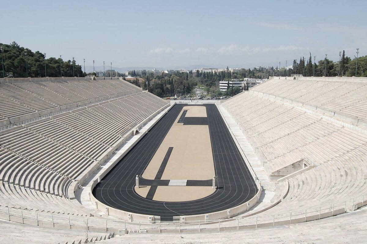 Το Παναθηναϊκό Στάδιο (Καλλιμάρμαρο). Φωτ.: Βικιπαίδεια.