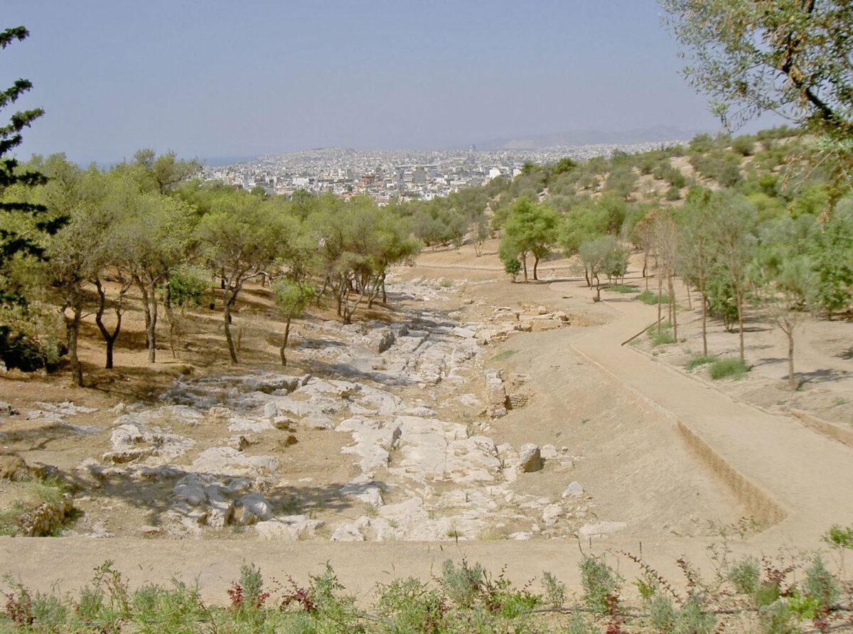 Η αρχαία οδός Κοίλης (φωτ.: ΥΠΠΟΑ).