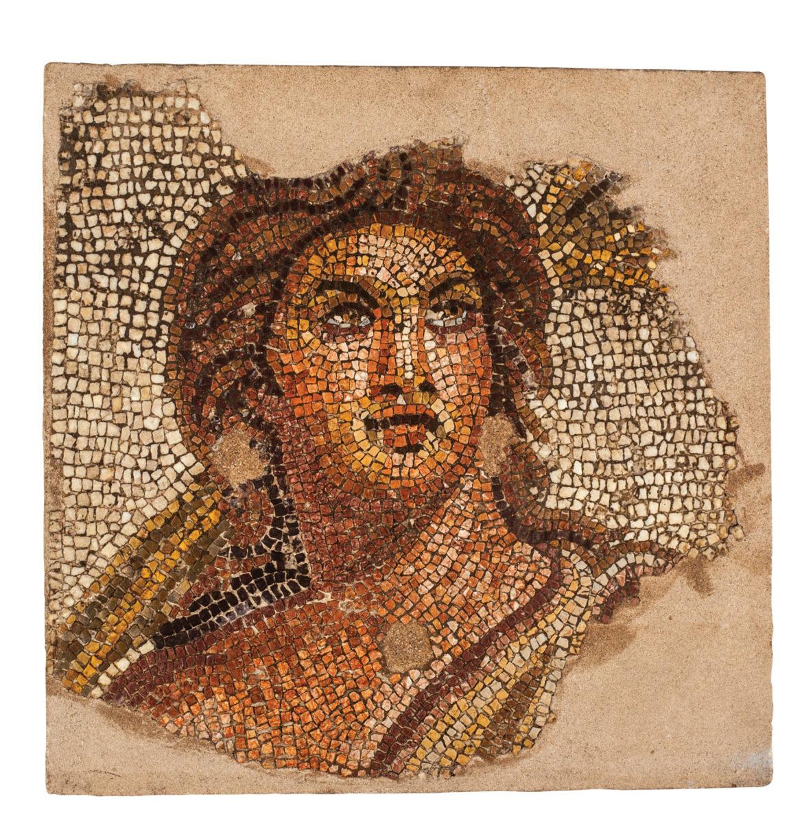Το Θέρος σε ψηφιδωτό του Αρχαιολογικού Μουσείου Θεσσαλονίκης