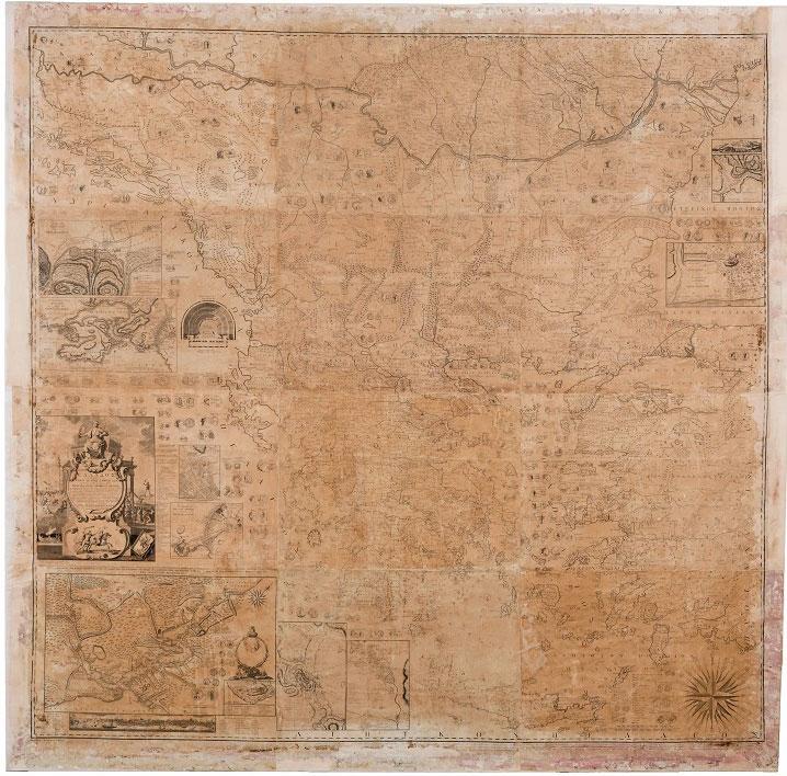 Άποψη της Χάρτας του Ρήγα (φωτ.: ΥΠΠΟΑ/ΒΧΜ/ΤΑΠ).
