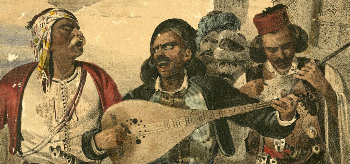 Η πορεία των αρματολών και των κλεφτών στον χρόνο και στην Ιστορία, τα ανδραγαθήματα, οι ηρωικές μάχες και ο καθημερινός βίος εξελίχθηκαν, από αφηγήσεις στην απλή γλώσσα του λαού, σε τραγούδια που διαδόθηκαν από στόμα σε στόμα (φωτ.: ΠΙΟΠ).
