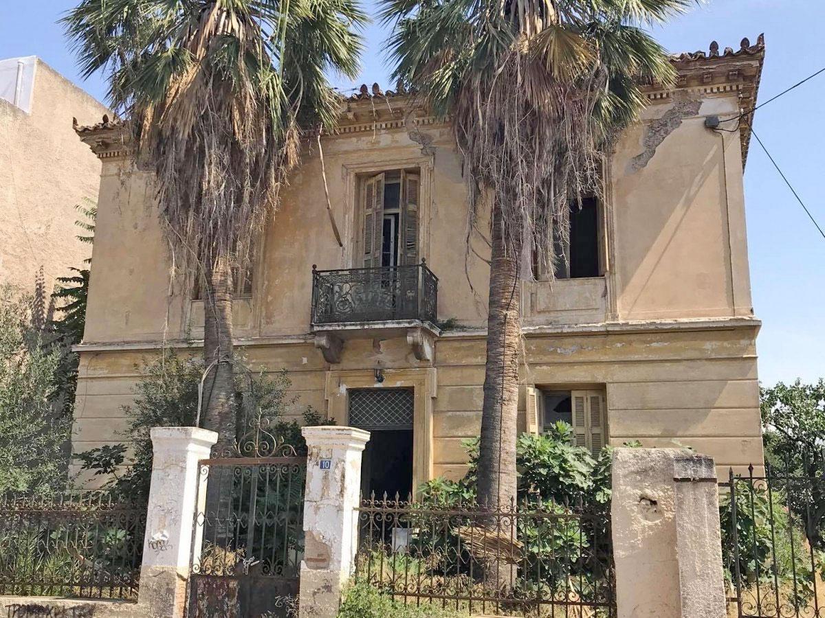 H κατοικία της οικογένειας Μορφόπουλου στην Ελευσίνα (φωτ.: Δήμος Ελευσίνας).