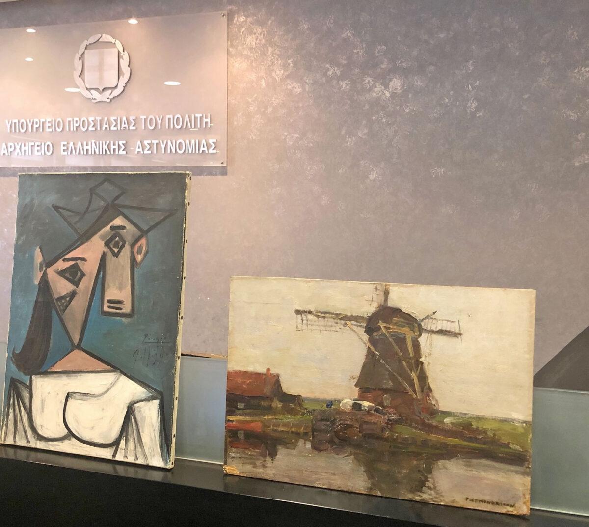 Εξιχνιάστηκε η κλοπή από την Εθνική Πινακοθήκη