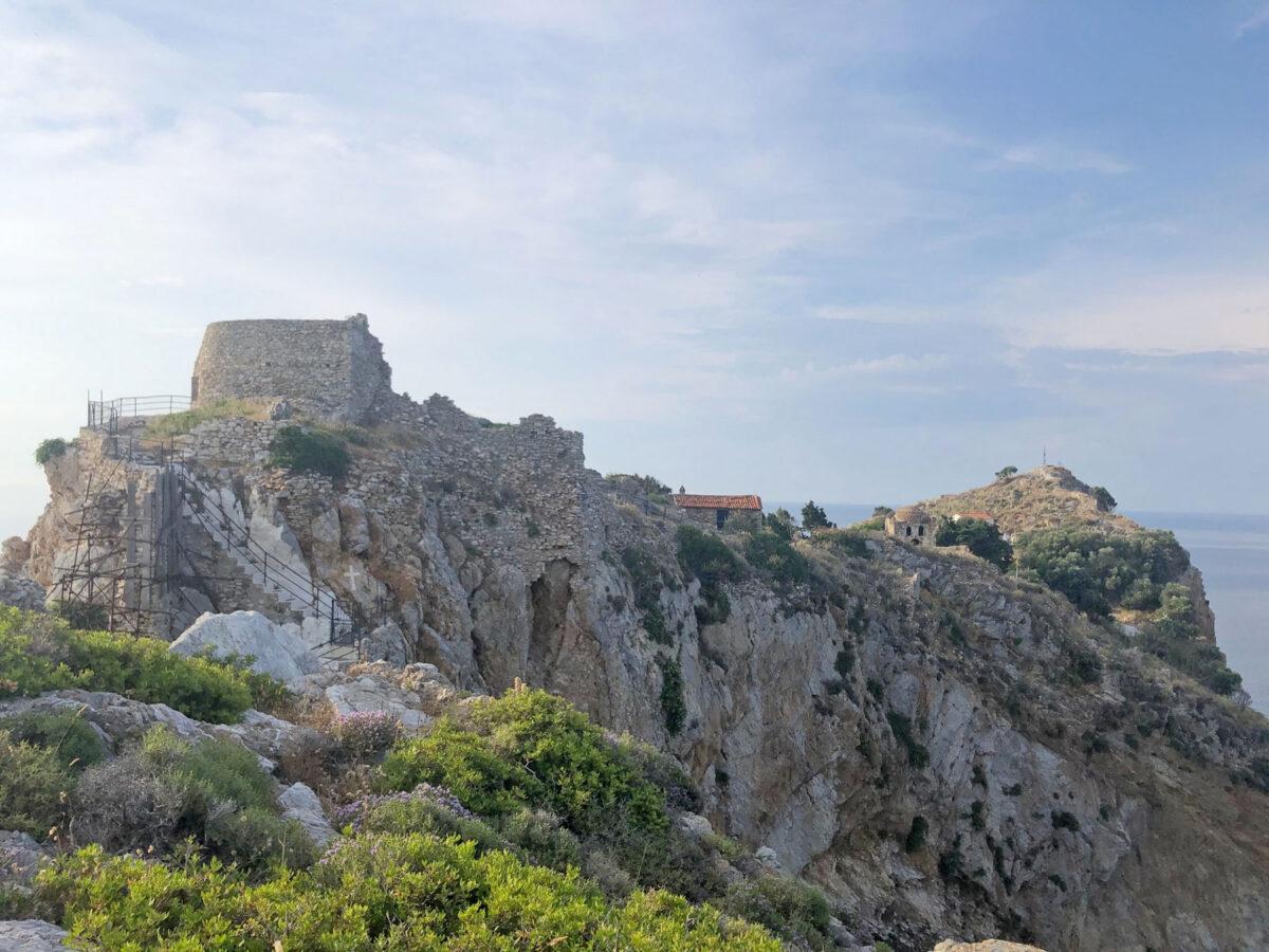Το Κάστρο της Σκιάθου (φωτ.: ΥΠΠΟΑ).