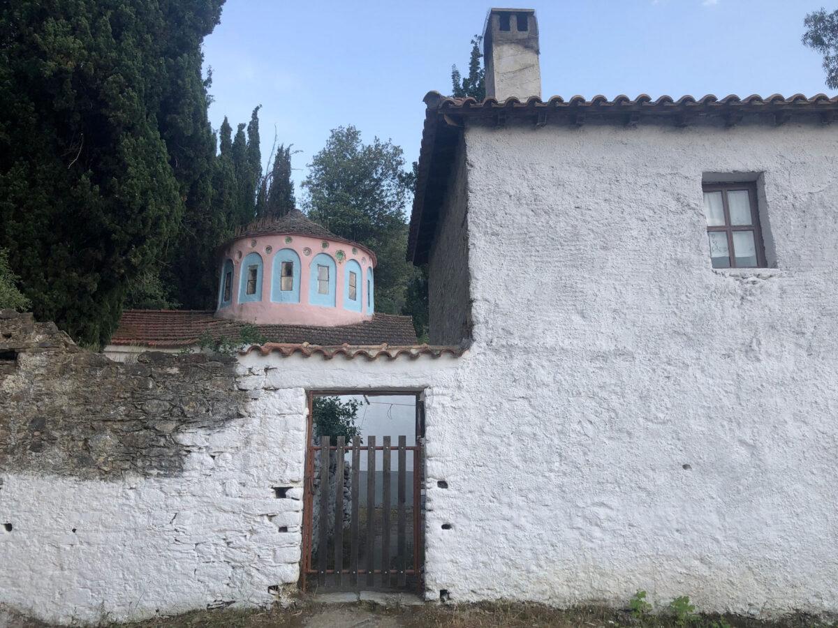Η μονή Παναγίας Κεχριάς (φωτ.: ΥΠΠΟΑ).