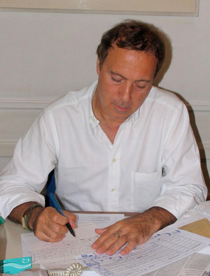 Ο Νίκος Σταμπολίδης.
