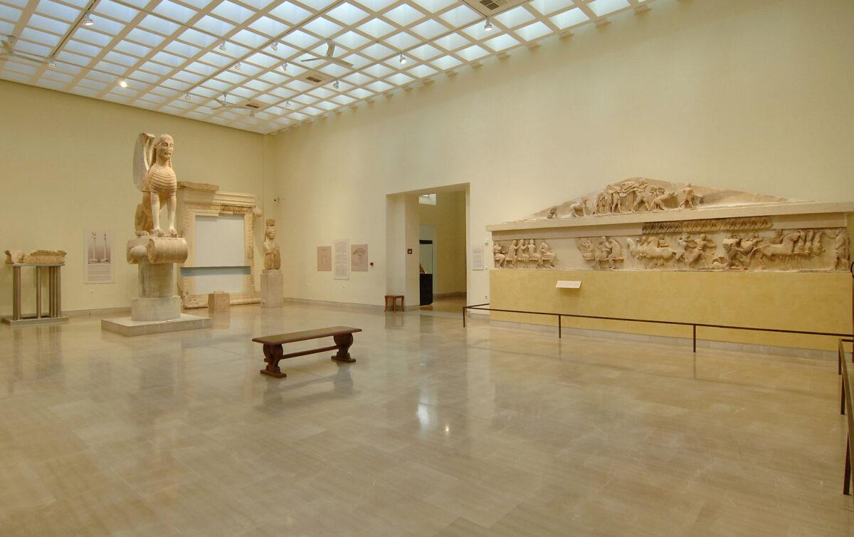 Αρχαιολογικό Μουσείο Δελφών (φωτ.: ΥΠΠΟΑ).