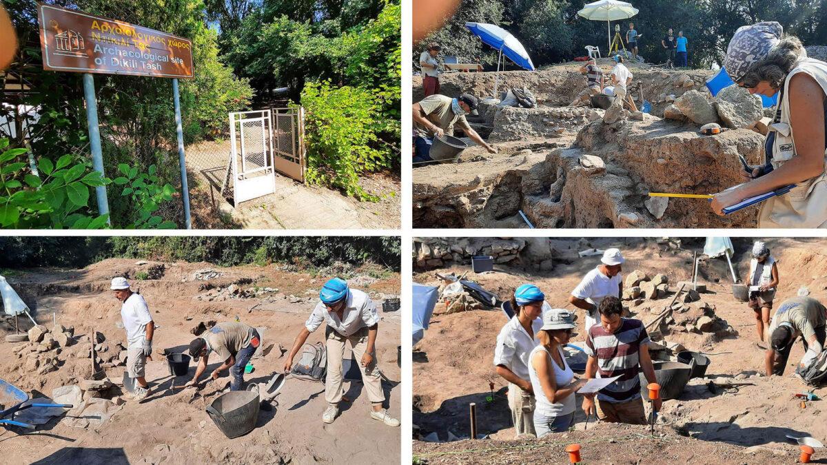 Το Μέγα Βραβείο Αρχαιολογίας 2020 στην ομάδα του Ντικιλί Τας