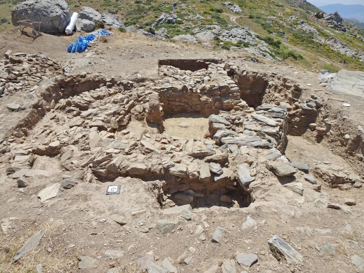 Θέση Γκουριμάδι, γενική άποψη της ανασκαφής (φωτ.: ΥΠΠΟΑ).