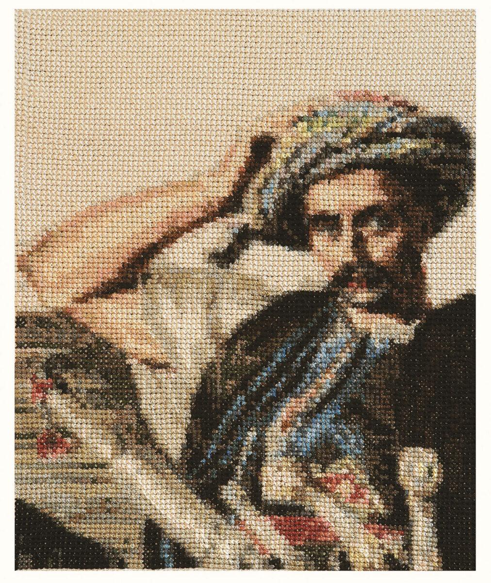 Δημιουργία του Σταμάτη Ζάννου με αφετηρία έγχρωμες λιθογραφίες του Γάλλου ζωγράφου Louis Dupré (φωτ.: ΠΙΟΠ).