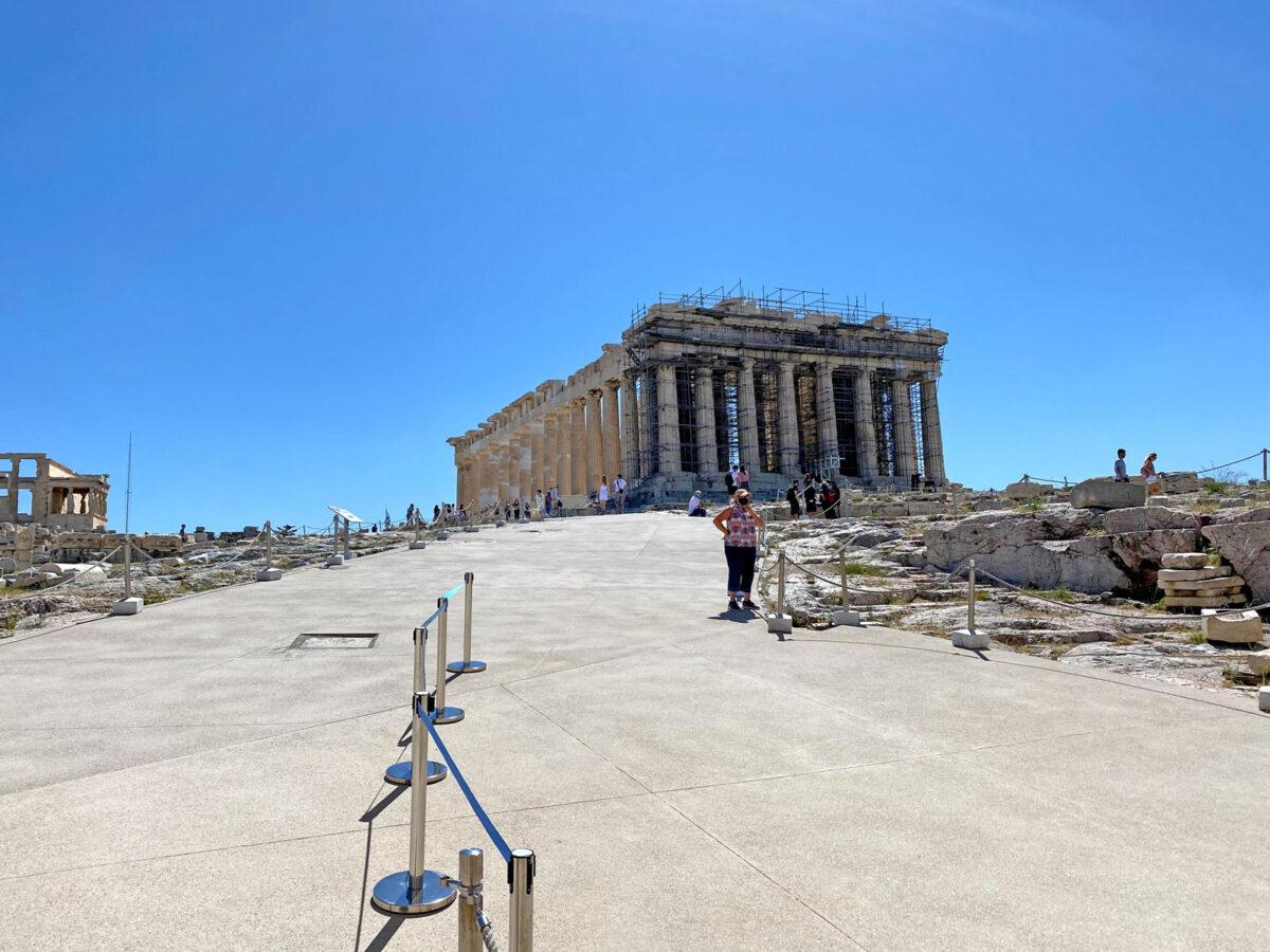 Άποψη του Παρθενώνα (φωτ.: MONUMENTA).