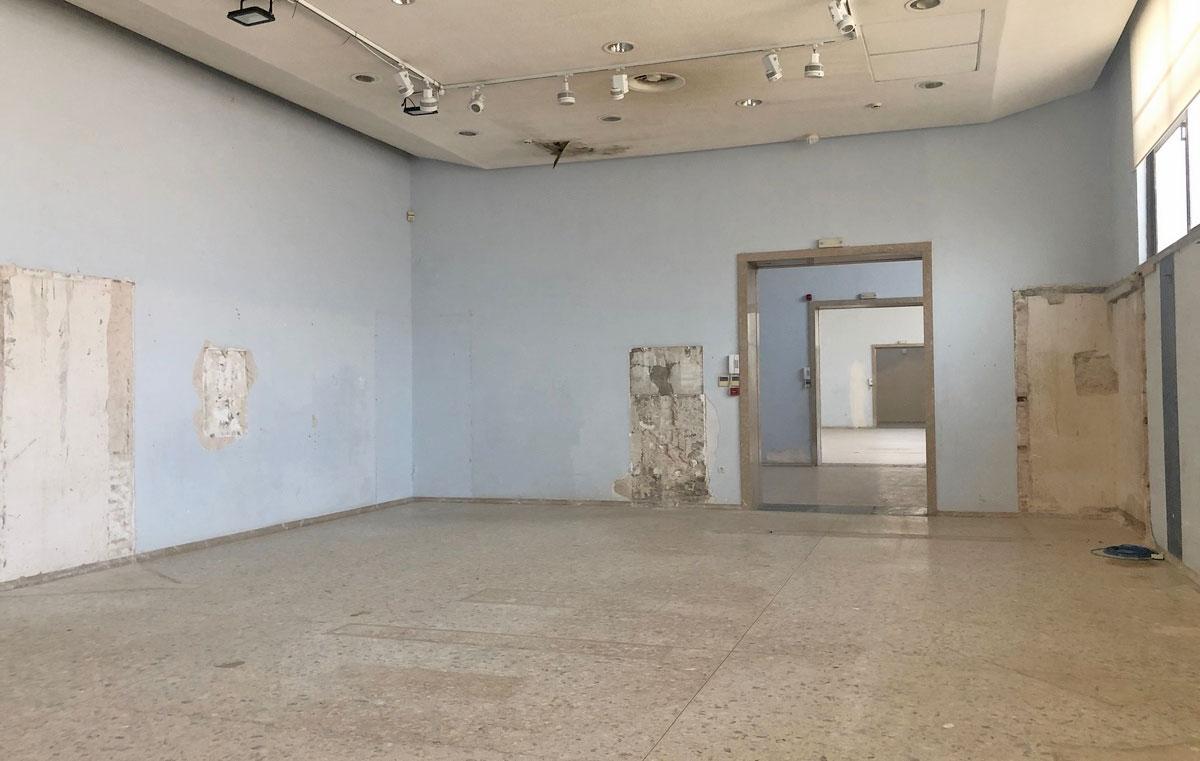 Άποψη του εσωτερικού του Παλαιού Μουσείου Ακρόπολης (φωτ.: ΥΠΠΟΑ).