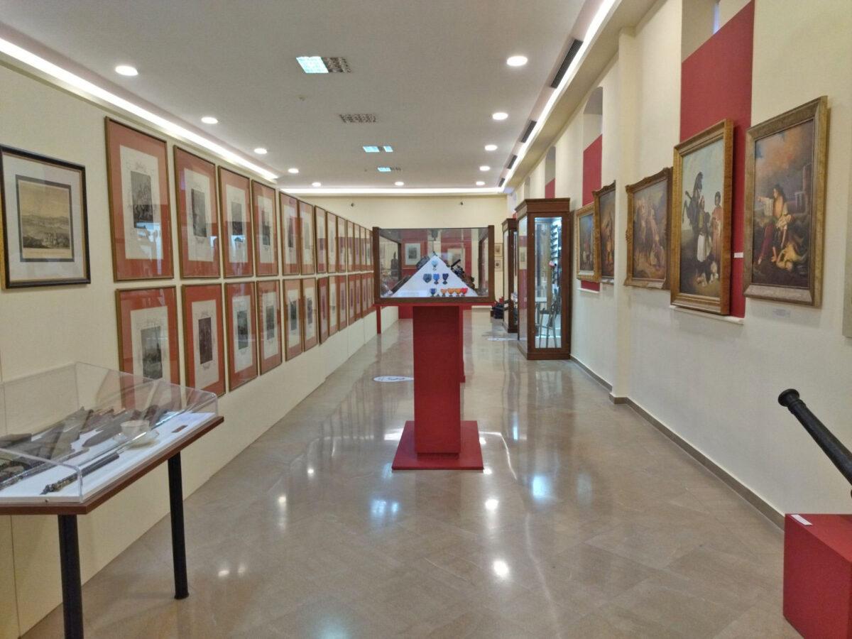 Στο Πολεμικό Μουσείο Θεσσαλονίκης (φωτ.: ΑΠΕ-ΜΠΕ / Β. Νικόλτσιος).