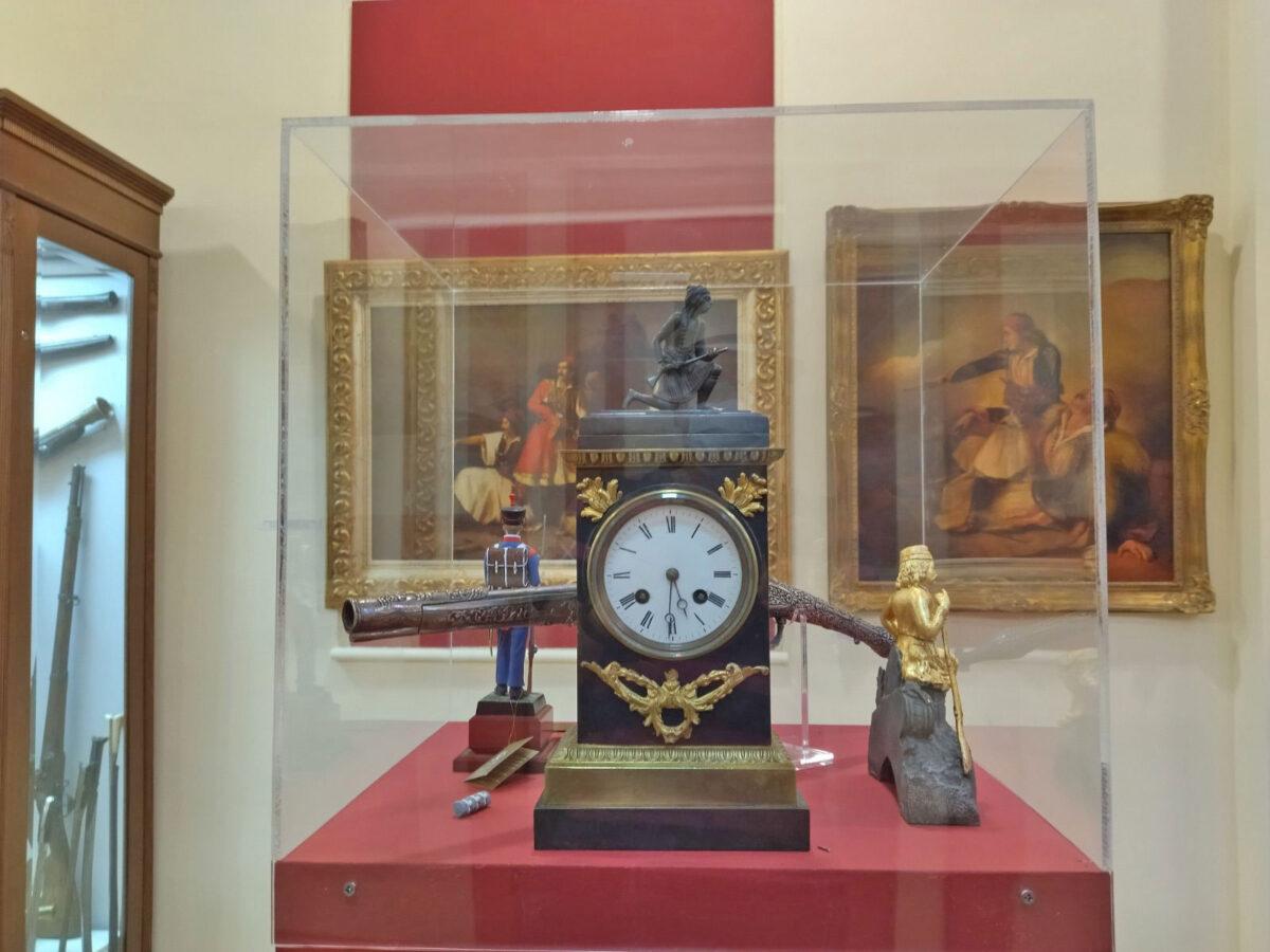 Άποψη της μόνιμης συλλογής του Πολεμικού Μουσείου Θεσσαλονίκης (φωτ.: ΑΠΕ-ΜΠΕ / Β. Νικόλτσιος).