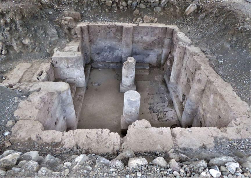 Ο υπόστηλος τάφος του Αλέξανδρου Α΄, 454 π.Χ. © Υπουργείο Πολιτισμού και Αθλητισμού.