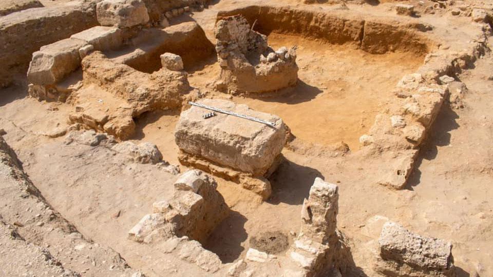Άποψη της ανασκαφής στην Αλεξάνδρεια (φωτ.: ΑΠΕ-ΜΠΕ).