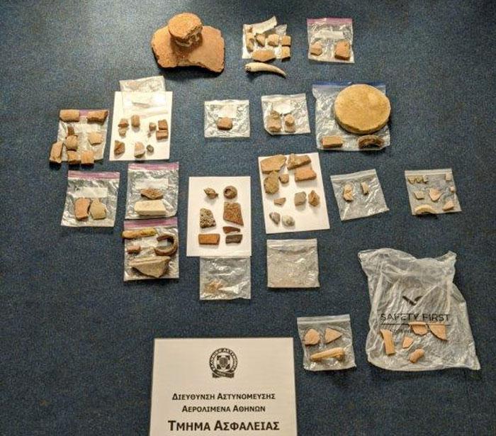 Σύλληψη δύο ατόμων στον Διεθνή Αερολιμένα Αθηνών