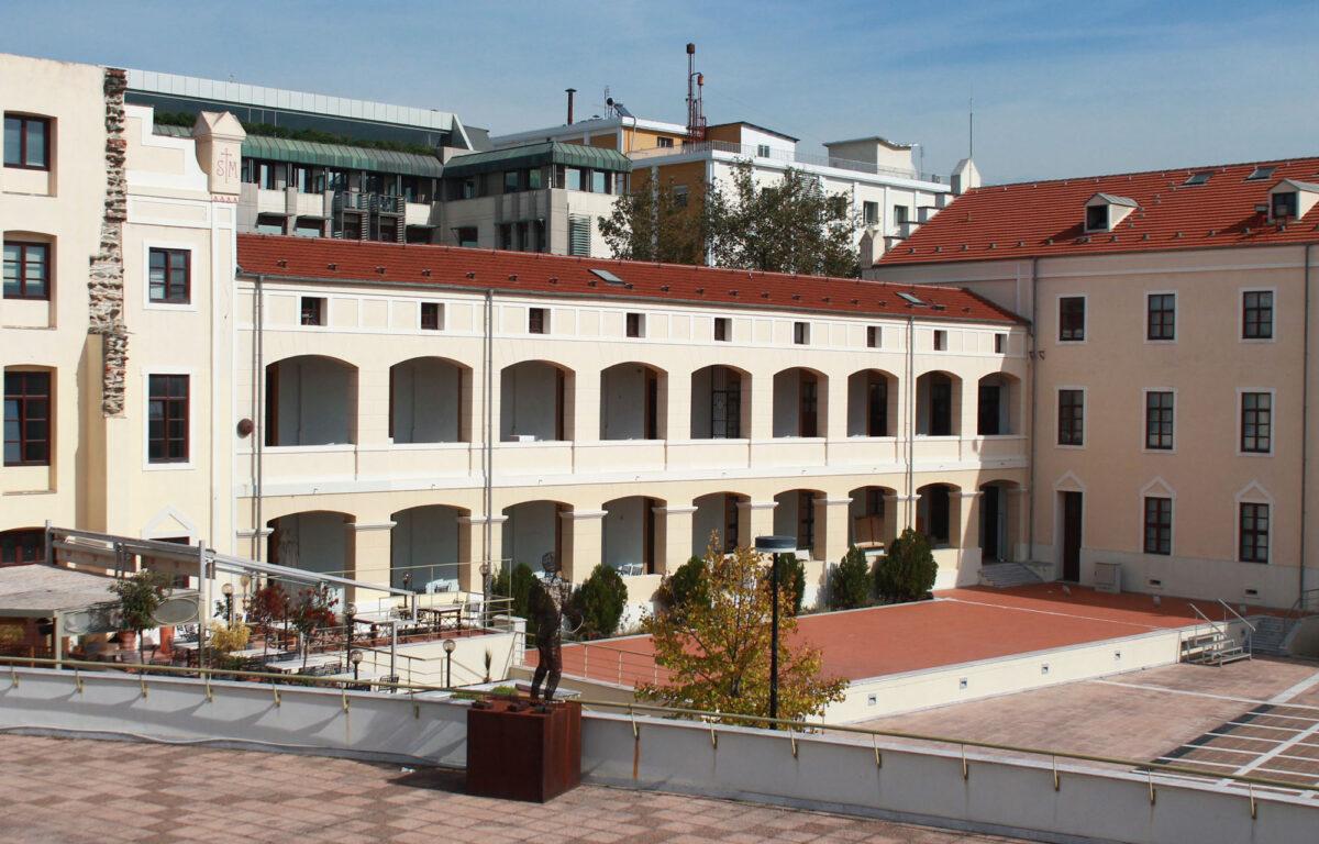 Άποψη της Μονής Λαζαριστών σήμερα (φωτ.:ΑΠΕ-ΜΠΕ / Γ. Τσουβάλογλου, Μονή Λαζαριστών).