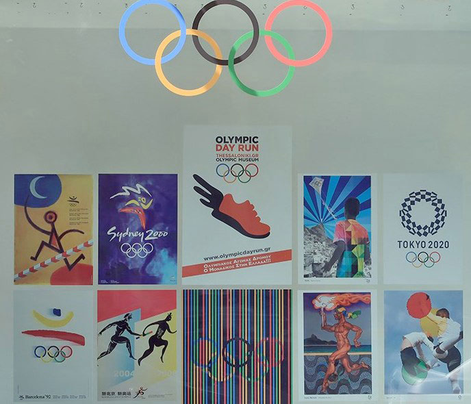 Η ιστορία των Ολυμπιακών Αγώνων στις «Βιτρίνες Τέχνης» του ΟΤΕ