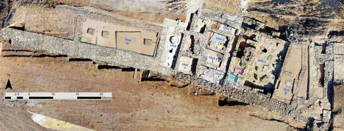 Εργαστηριακό Σύμπλεγμα Χατζηαπτουλλά 2021 – Μωσαϊκό Μονάδων 1-10 (Άθως Αγαπίου). Φωτ.: Τμήμα Αρχαιοτήτων Κύπρου.